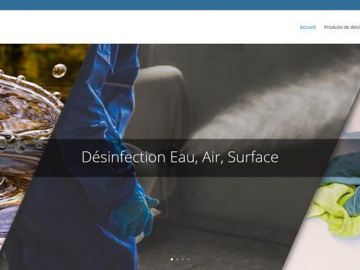 Création du site internet SANOSIL France